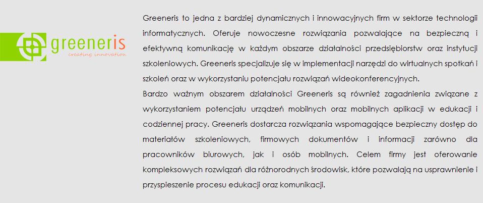 greeneris opis