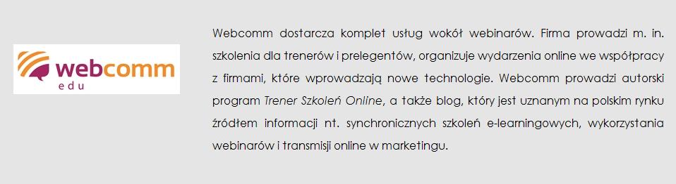 webcomm opis